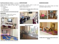 ROOMS FOR HIRE - IDEAL FOR MEETINGS, CLASSES, EVENTS, OFFICE SPACE
