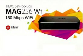 MAG 256 W1 * IPTV * 100% Genuine + *12 Months Gift * FULL WORLD PACKAGE * Won't Find Better*