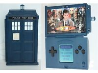 Dr Who Tardis Box Video Game Handheld Console