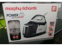 Morphy Richards power steam elite iron - brand new!!