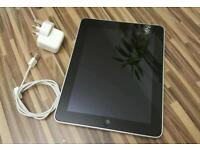 "Apple ipad 1st generation 10"" wifi 32GB in good condition"