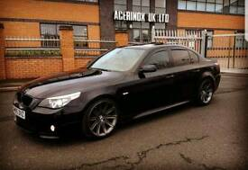 Bmw 535d m sport e60 remaped fully loaded excellent condition (sunroof)