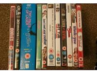 11 DVD comedy films and movies plus 7 series