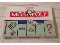 WADDINGTONS MONOPOLY 1996 EDITION PROPERTY TRADING BOARD GAME. COMPLETE