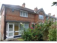 4 bedroom fully furnished house in Harborne B17 to rent