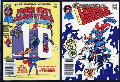 Year's Best Comics Paar Ungelesen Digest Bücher 1980 Dc (Superhelden Paare)