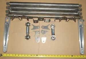 "28"" X .975 X 48 SPLINE X 1 1/8"" 5 STAR HOLLOW BAR,  SWAY BAR KIT"