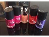 Bundle Kate Moss & Rita Ora for Rimmel nail polishes. Brand new £15