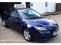 Bargain LOW MILES trade in car to clear 2005 Mazda3 1.6 Sakata ( Mazda 3 ) 61k,mot Dec 4 new tyres!