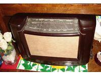 very rare mullard vintage Bakelite radio mas305/15 please look