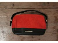 Small Red Leather Cross-Body Bag River Island