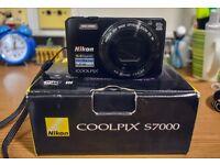 Nikon Coolpix S7000 - Wifi 16MP 20x Zoom Digital Camera