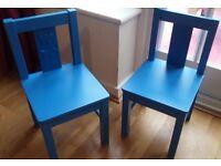 Childrens Kids IKEA Kritter Chairs (x2)