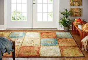 Artifact Panel 5 ft. x 8 ft. Multi-Coloured Area Rug NEW ** 5 CORNERS FURNITURE**
