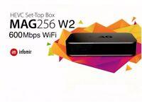 MAG 256 W2 * IPTV * 100% Genuine + *12 Months Gift * FULL WORLD HD PACKAGE * Won't Find Better*