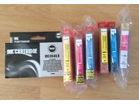 Non OEM 364XL Ink Cartridges x 7 HP Photosmart 5510 5515 5520 5524 6510 6380 etc
