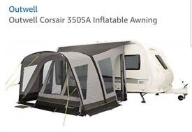 Outwell Corsair 350SA Inflatable Awning