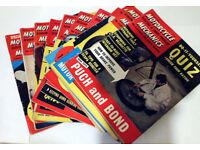 1962 MOTORCYCLE SCOOTER & THREE-WHEELER MECHANICS magazines FULL SET OF 12