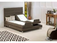 Brand New Electric Adjustable Beds, Mobility Bed, Orthopaedic Mattress From £650