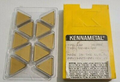 Tpg 432 Kc850 Kennametal 10 Pcs Factory Pack