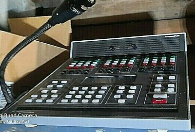 Motorola L1680a Dispatch Console And Microphone Tested Pre-owned