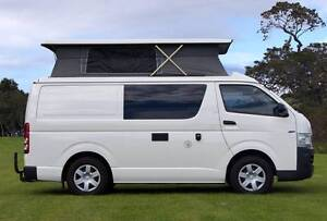 Toyota Hiace Automatic Frontline Campervan with 5 Seat belts Albion Park Rail Shellharbour Area Preview
