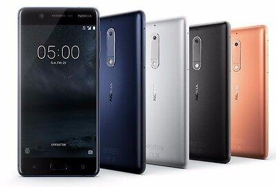 Nokia 6 64Gb Ta 1003 Dual Sim  Factory Unlocked  5 5  4Gb Ram Silver Black Gold