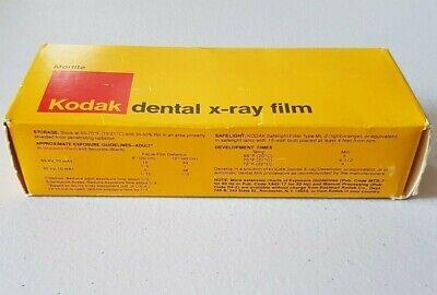 Vintage Morlite Kodak Dental X-ray Film Bite-wing Size 3 100 Packets Df-42 1979