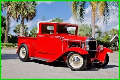 1931 Ford Model A Pickup Convertible / Custom / 350 V8 1931 Ford Model A Pickup Convertible Automatic 350 V8