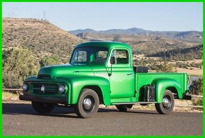 1952 International Harvester R-110  1952 International R-110 2WD Pickup Truck, 15 Miles on Restoration, Straight Six