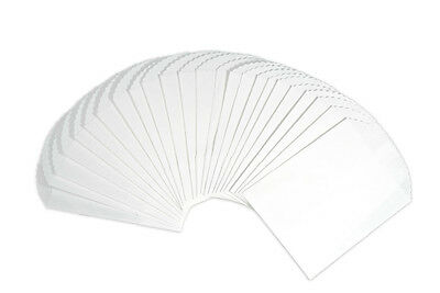 100 White Kraft Paper Bags 6.25