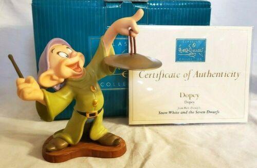 Snow White Seven Dwarfs Walt Disney Classics Collection Figure Dopey Cymbal