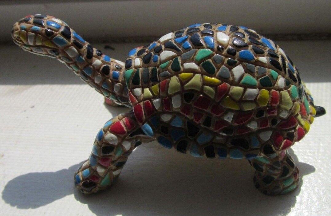 Barcino Mosaic Mini Turtle MTIA-B 072528 MultiColor
