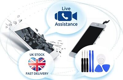 iPhone 7 Replacement Screen Touch LCD Display + Tools + Live Video Assistance Touch Iphone Video