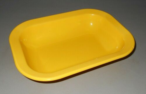 "Texas Ware Yellow Serving Bowl #119 Vintage Melamine Melmac 10"" x 7 1/2"""