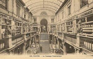 Carte postale ancienne nantes le passage pommeraye ebay - Magasin passage pommeraye ...