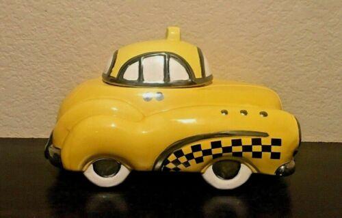 "RARE EXPRESSIVE DESIGNS ""CLASSIC 1"" 1950 DESOTO TAXI CAB cookie jar (cl)"