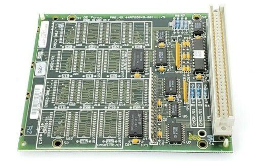 GE FANUC IC697MEM713B 64KB CMOS MEMORY MODULE 44A726846-001R04/5 (REPAIRED)