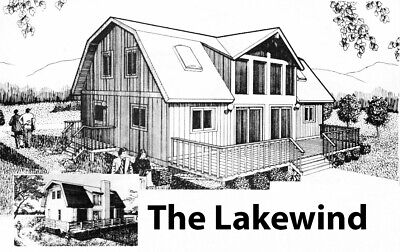 The Lakewind 28 X 36 Customizable Shell Kit Home Delivered Ready To Build