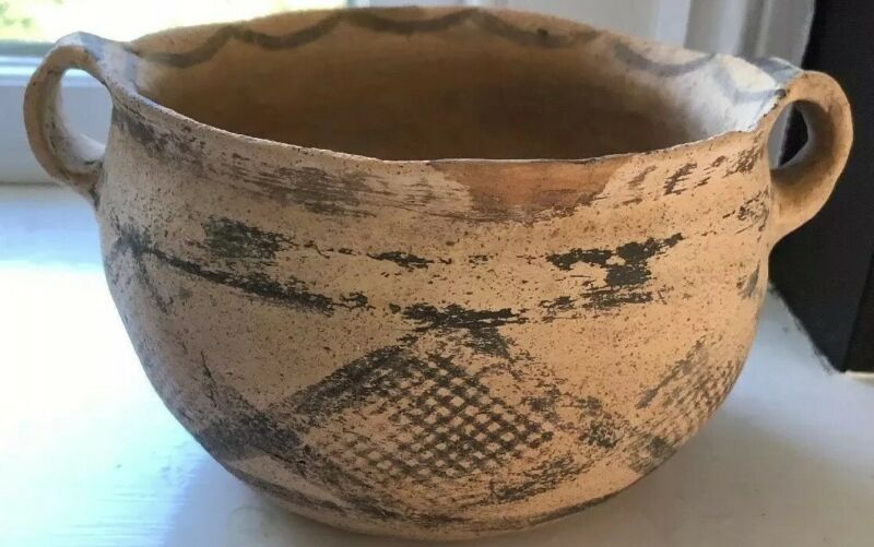 Early Bronze Age SusaIII Culture Terracotta  Serving Bowl Circ 3000BC COA
