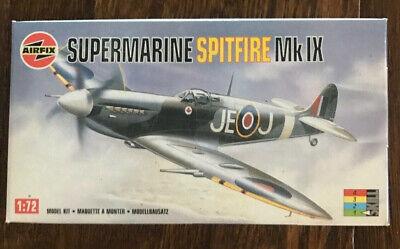 Airfix WWII Supermarine Spitfire Mk IX SE Model Kit 1:72 02081 SEALED BAGS