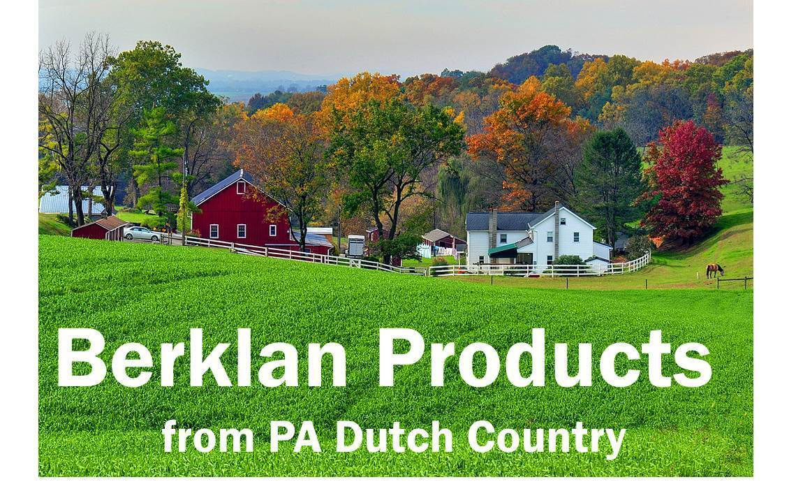 Berklan Products: Vintage and New