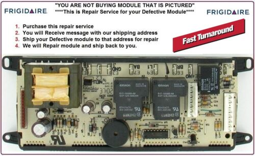 318010700 Mail-In Repair Service Frigidaire Oven Control Board