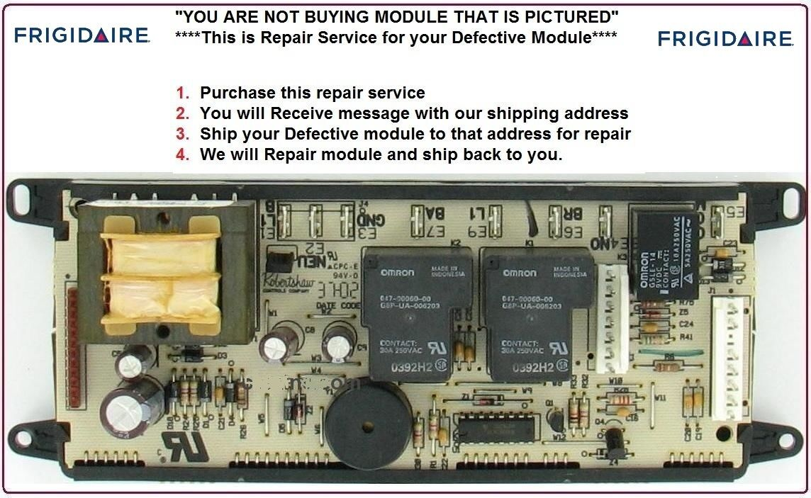 Купить 318010700 Repair Service Frigidaire Oven Control Board 1 DAY TURNAROUND TIME