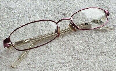 Hochwertige Damen Marken Brillengestell Brille hell lila metallic von VOGUE NEU