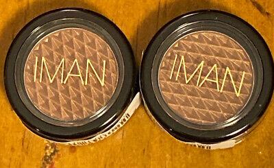 (2-Pack) IMAN COSMETICS Luxury Eyeshadow TIGER EYE