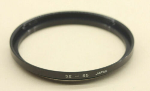 52mm-55mm Step Up Adapter Ring USED - Y572