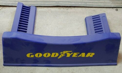 GOODYEAR Tires Advertising Display Rack Stand Sign Gas Oil