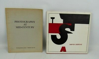 George Eastman House (2 Photography Exhibitions George Eastman House At Mid Century & Aaron Siskind)