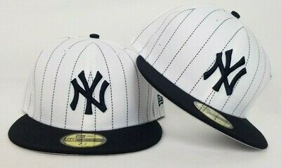 New Era Pinstripe New York Yankees Fitted Hat -